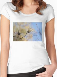Dreamy Magnolia Women's Fitted Scoop T-Shirt