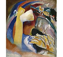Kandinsky - Study For Painting With White Form Photographic Print