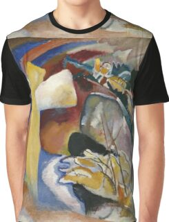 Kandinsky - Study For Painting With White Form Graphic T-Shirt