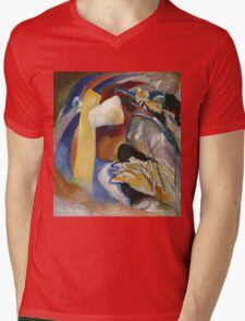 Kandinsky - Study For Painting With White Form Mens V-Neck T-Shirt