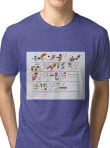 Kandinsky - Succession Tri-blend T-Shirt