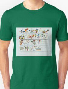 Kandinsky - Succession Unisex T-Shirt