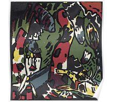 Kandinsky - The Archer Poster