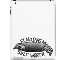self worth iPad Case/Skin