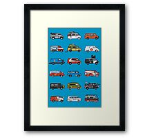 It would have been cooler as a Van (2) Framed Print