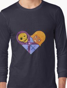 Skeletor & He Man Long Sleeve T-Shirt