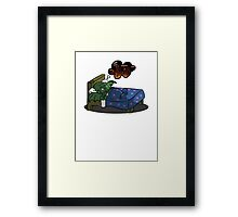Cthulhu Dream Framed Print