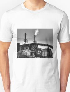 Steel mill flame. Unisex T-Shirt