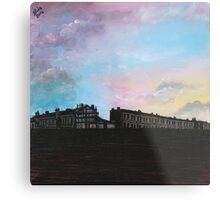 Priory Road at Dusk Metal Print