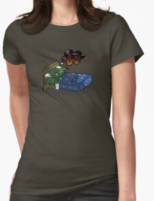 Cthulhu Dream Womens Fitted T-Shirt