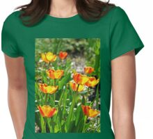 Tulip Bouquet Womens Fitted T-Shirt