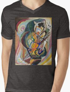 Kandinsky -  Improvisation Mens V-Neck T-Shirt
