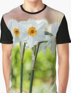 Happy Daffodils  Graphic T-Shirt