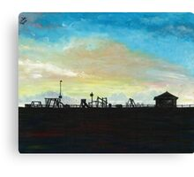 West Hill Playground at Dusk Canvas Print