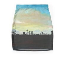 West Hill Playground at Dusk Mini Skirt