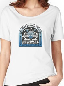 BUILDING BETTER WORLDS (COVENANT) Women's Relaxed Fit T-Shirt