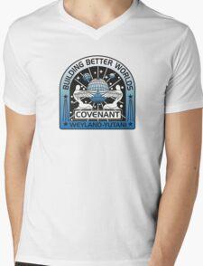 BUILDING BETTER WORLDS (COVENANT) Mens V-Neck T-Shirt