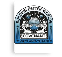 BUILDING BETTER WORLDS (COVENANT) Canvas Print