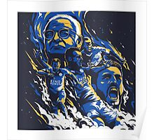 Leicester City FC 2016 Poster
