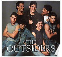 The Outsiders Drama/Teen Film Poster