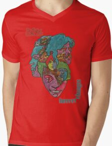 Love - Forever Changes + Logo Mens V-Neck T-Shirt