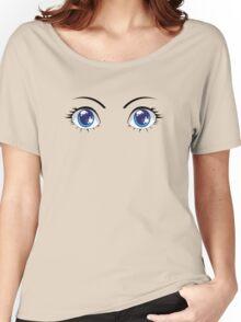 Cute Stylized Eyes female Women's Relaxed Fit T-Shirt