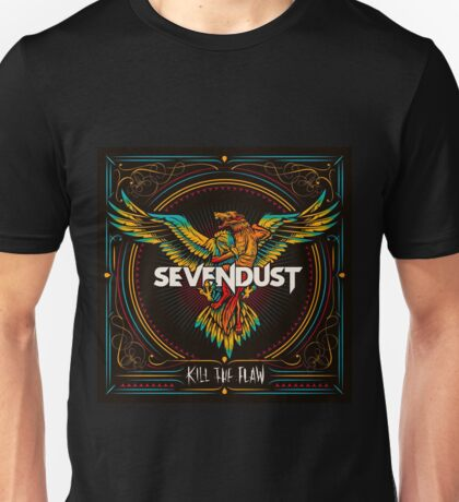 Kill The Flaw Album of Sevendust Unisex T-Shirt