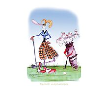 Golf Widow, tony fernandes Photographic Print