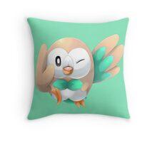Rowlet Throw Pillow