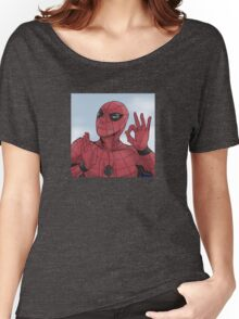 Spider-man On Point Women's Relaxed Fit T-Shirt
