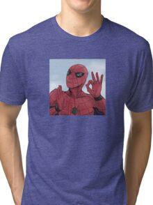 Spider-man On Point Tri-blend T-Shirt