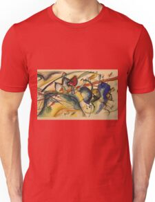 Kandinsky -  Painting With White Border Unisex T-Shirt