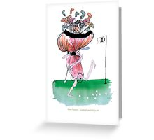 Golf Lover, tony fernandes Greeting Card