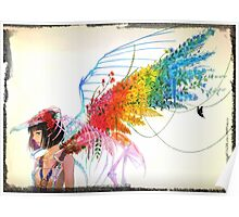 Rainbow Girl Poster