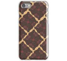 Floral Square Pattern iPhone Case/Skin