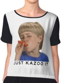 Just Kazoo It!  Chiffon Top