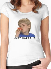 Just Kazoo It!  Women's Fitted Scoop T-Shirt
