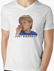 Just Kazoo It!  Mens V-Neck T-Shirt