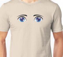 Cute Stylized Eyes male Unisex T-Shirt