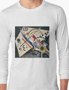 Kandinsky - White Cross Long Sleeve T-Shirt