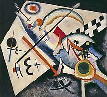Kandinsky - White Cross Photographic Print