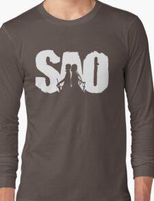 Sword art Long Sleeve T-Shirt