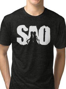 Sword art Tri-blend T-Shirt