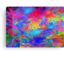 Color Chaos Canvas Print
