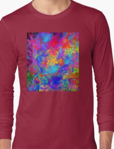 Color Chaos Long Sleeve T-Shirt