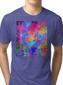Color Chaos Tri-blend T-Shirt