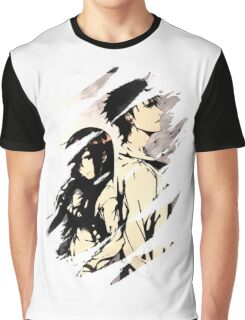 Steins Gate  Okabe And Makise Anime  Graphic T-Shirt