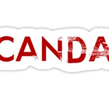 Scandal Sticker