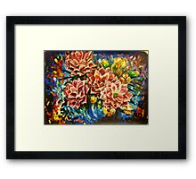 Flower Party Framed Print