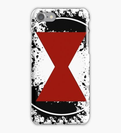 BW Splatter iPhone Case/Skin